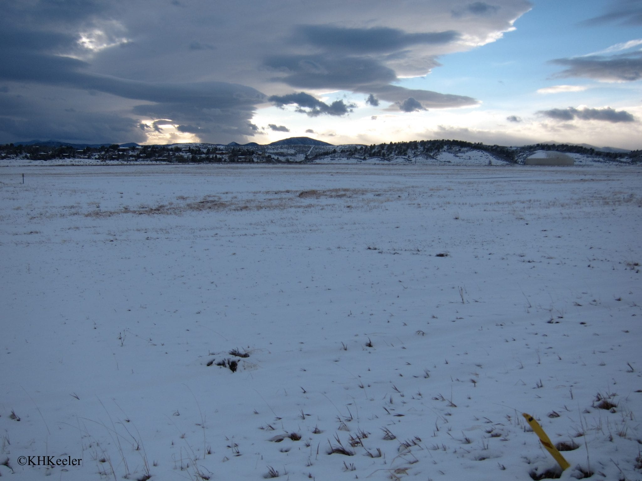 Colorado Front Range in winter